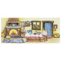 Ξύλινο Κουκλοθέατρο για δακτυλόκουκλες Goki 51786