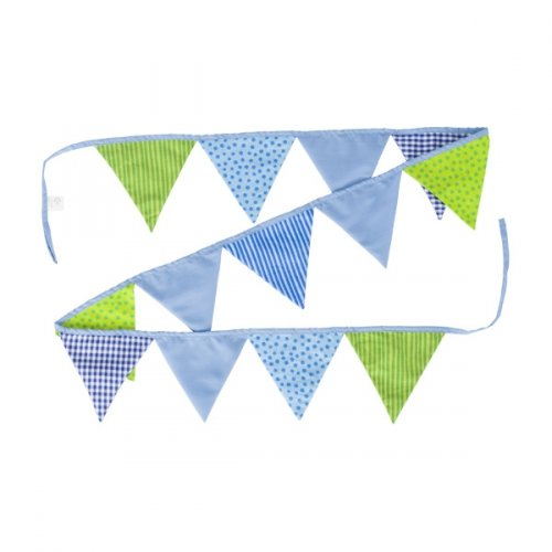 Σημαιάκια μπλέ και πράσινα Goki 60767