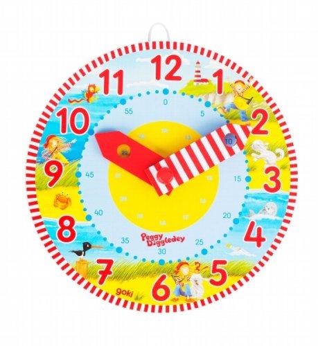 Ρολόι , μαθαίνω την ώρα Peggy Diggledey Goki 58526