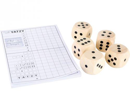 Παιχνίδι Yahtzee με μεγάλα ζάρια Small Foot 8697