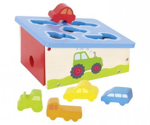Κουτί αναγνωρίζω τα οχήματα Goki 58668
