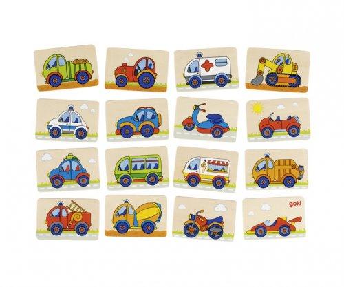 Μέμο αυτοκινητάκια Goki 56689