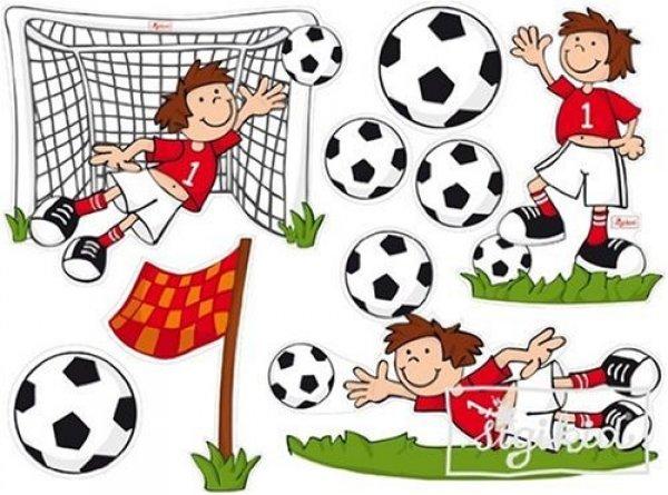 Αυτοκόλλητα τοίχου Ποδόσφαιρο Sigikid Κωδ. 23619