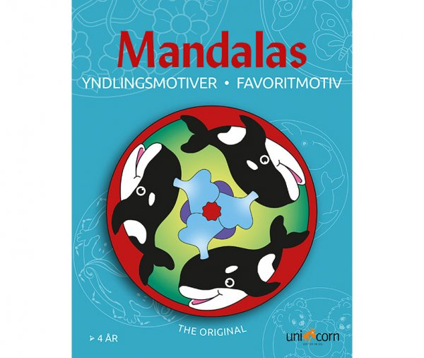Mandalas Αγαπημένα Ζωάκια UNICORN 1891083