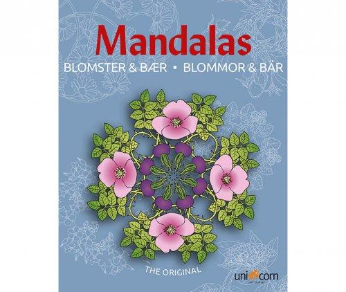 Mandalas με Λουλούδια και Φρούτα του Δάσους UNICORN 2484802