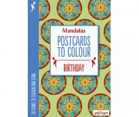 Mandalas Καρτποστάλ Γενέθλια UNICORN 9835751