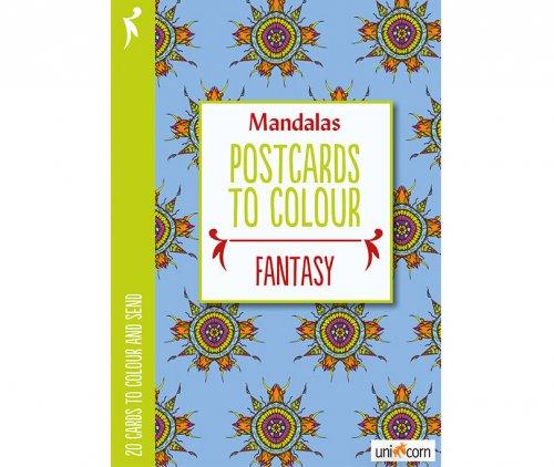 Mandalas Καρτποστάλ Φαντασία UNICORN 9835775