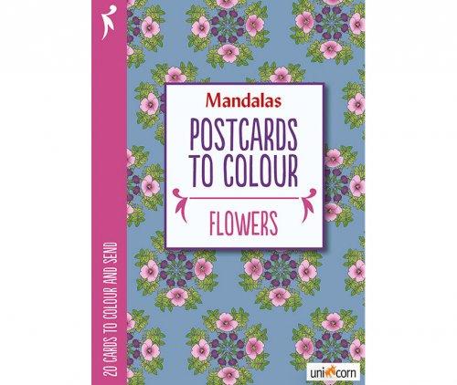 Mandalas Καρτποστάλ Λουλούδια UNICORN 9835737