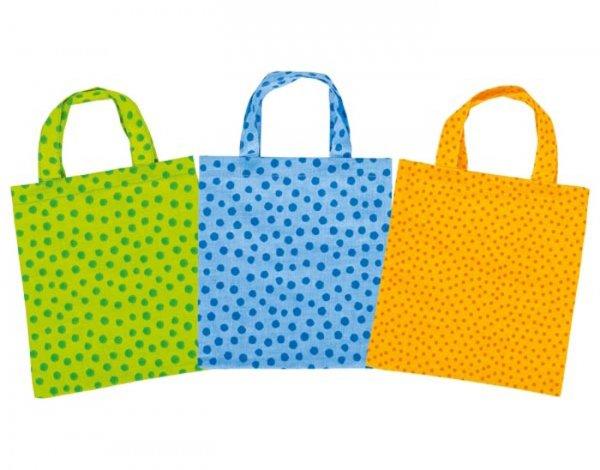Πάνινη χρωματιστή  τσάντα Goki 60742