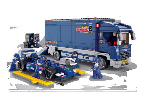 Formula 1 με φορτηγό  Sluban M38-B0357