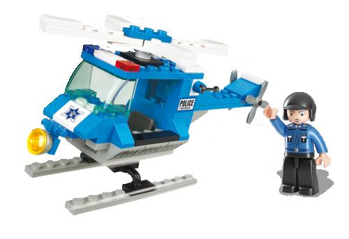 Αστυνομικό ελικόπτερο Sluban M38-B0175