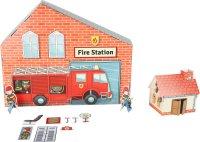 Πυροσβεστικός Σταθμός απο Χαρτόνι Small Foot 10763