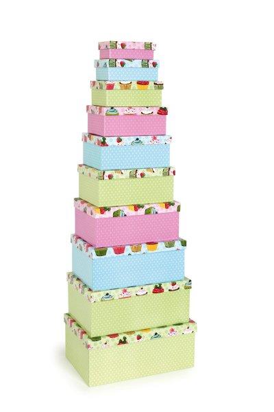 Κουτί Δώρου Cupcake Small Foot 8366-1