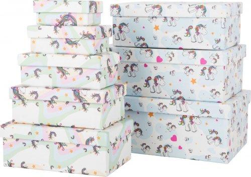 Unicorn Κουτιά Δώρων Small Foot 10756-6
