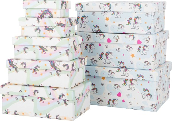 Unicorn Κουτιά Δώρων Small Foot 10756-8