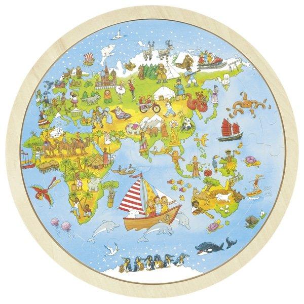 Παζλ, Το ταξιδεύω στον κόσμο Peggy Diggledey Goki 57479