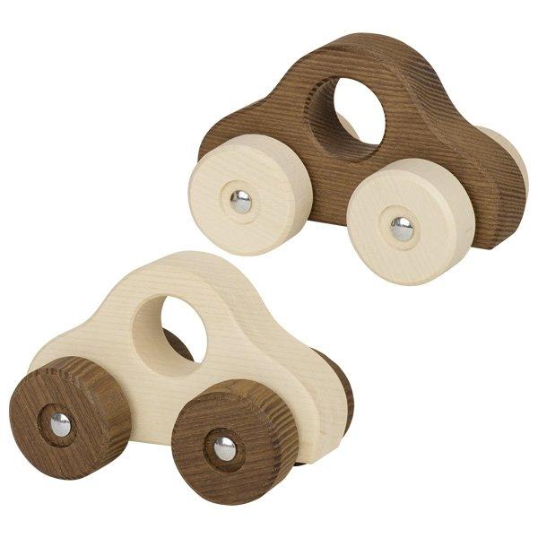 Aυτοκινητάκι από φυσικό ξύλο Goki 55909