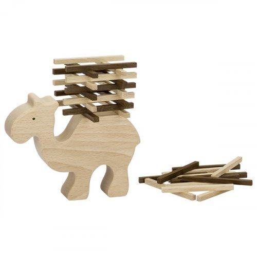 Καμήλα Ισορροπίας από φυσικό ξύλο Goki 56693