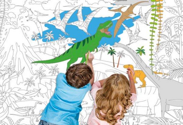 Χρωμοαφίσα Δεινόσαυροι  - fantastick