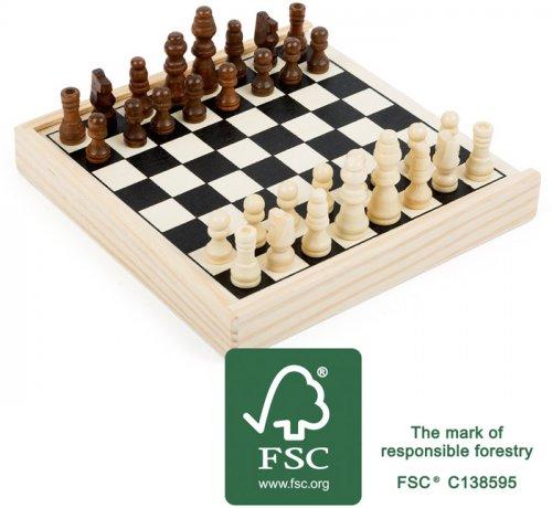 Επιτραπέζιο Παιχνιδι Ταξιδιού Σκάκι Small Foot 11209