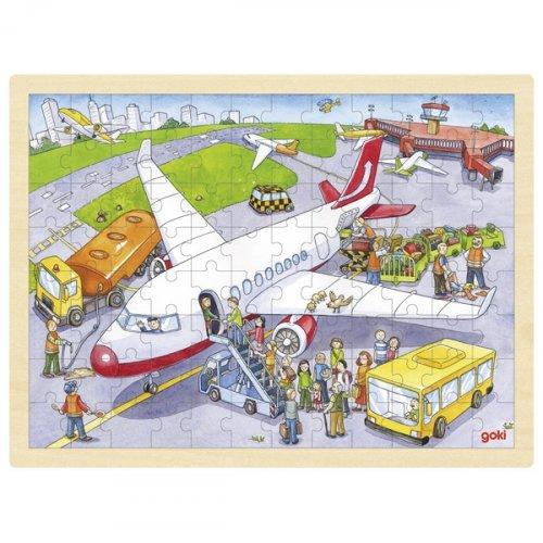 Παζλ 96 τμχ  το Αεροδρόμιο Goki 57544