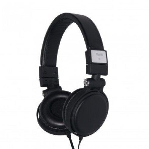 CRYPTO HEADPHONE [HPS-200 Black] Dual Function On-Ear Close