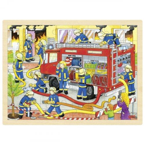 Παζλ 48 τμχ  η Πυροσβεστική σβήνει τη φωτιά! Goki 57527