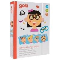Μαγνητικό παιχνίδι, αστείο κορίτσι Goki 58492