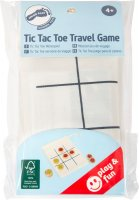 Επιτραπέζιο Παιχνίδι Τρίλιζα Ταξιδιού Small Foot 12019