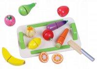 Ξύλινα Φρούτα και Λαχανικά  Ecotoys 4309