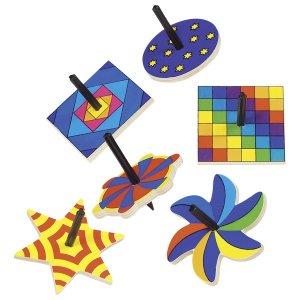 Πολύχρωμη σβούρα «Σχήματα» Goki 62994