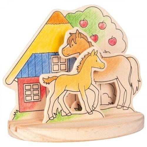 Ζωγράφισε τη Φάρμα με τα Αλογάκια Goki 58714