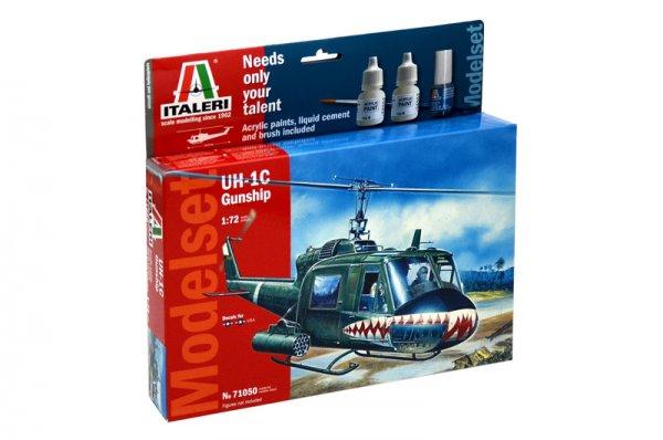 UH - 1C GUNSHIP - MODELSET - Italeri 71050
