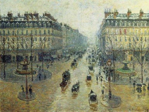 PISSARRO Avenue de l'Opera a Paris RICO5901N32012