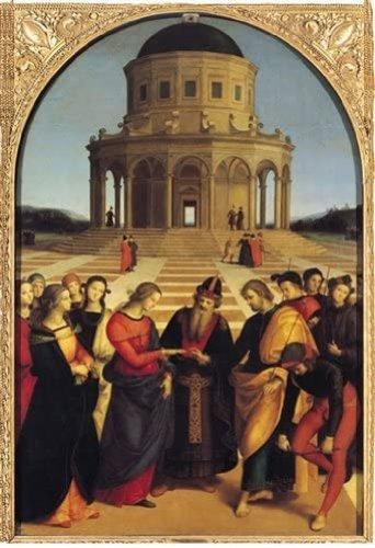 RAFFAELLO Sposalizio della Vergine RICO5901N15876A