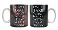 Game Of Thrones Mother of Dragons - Travel Mug Metal - MUGTGT06