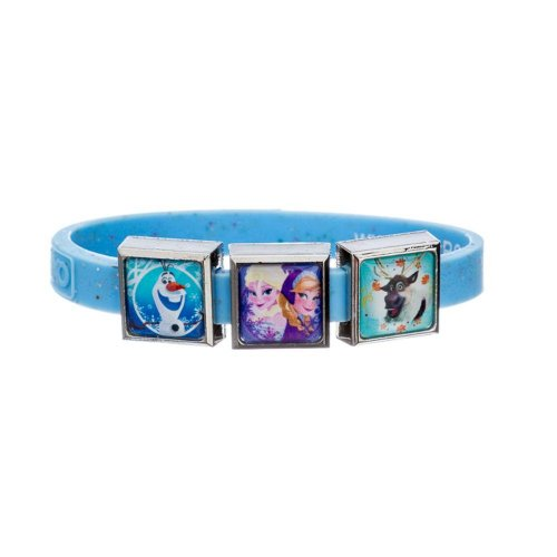 Βραχιόλι με 3 charms Γαλάζιο Frozen 6064_S