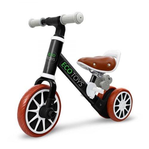 Ποδήλατο Ισορροπίας + πεντάλ Ecotoys 1307 BLACK