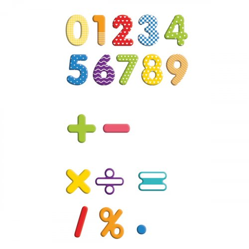 Κουτί με Μαγνητικούς Αριθμούς 90 τμχ Eduplay 120508