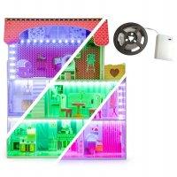 Κουκλόσπιτο Tennessee με LED Ecotoys 6395