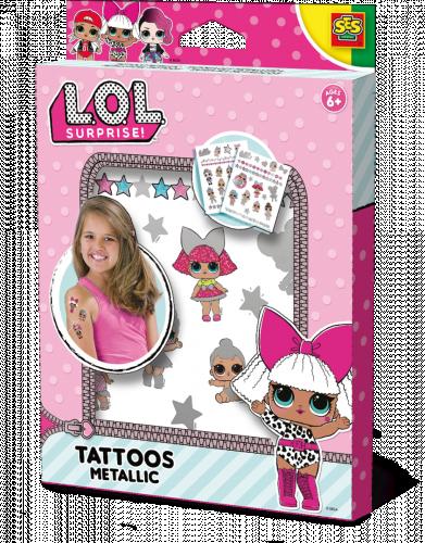 L.O.L. Tattoos metallic Ses 14192