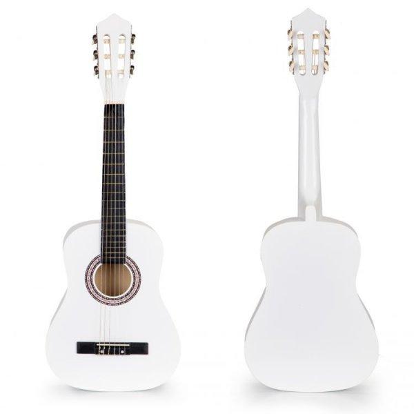 Μεγάλη Παιδική Κιθάρα Ecotoys 18022 WHITE