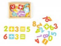 Γράμματα και Αριθμοί Μαγνητικό σετ Ecotoys 01834