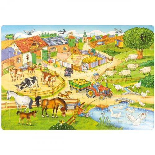 Μεγάλο Παζλ το Αγρόκτημα Eduplay 120401