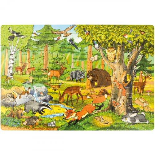Μεγάλο Παζλ το Δάσος Eduplay 120402