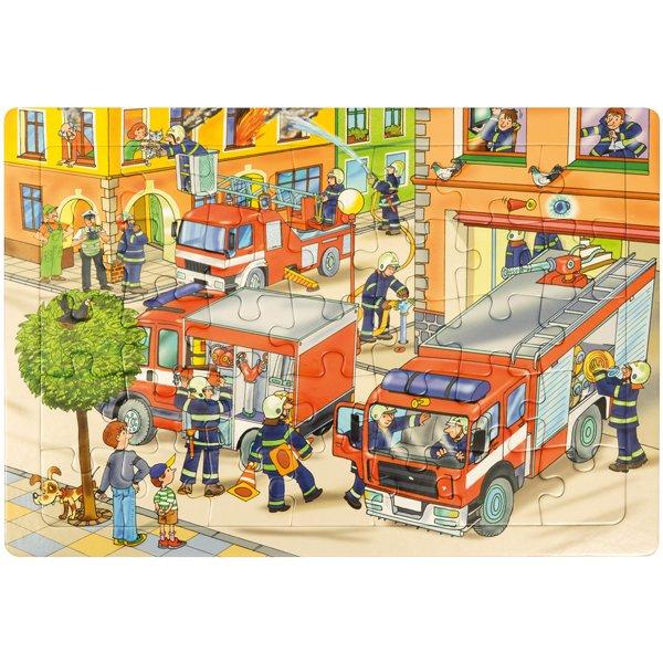 Μεγάλο Παζλ Πυροσβεστική Eduplay 120407