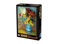 Παζλ Van Gogh Flowers in a blue vase 66916VG02