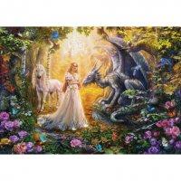 Παζλ Dragon Princess And Unicorn Educa 17696