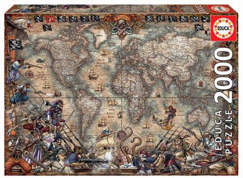 Παζλ Pirates Map Educa 18008
