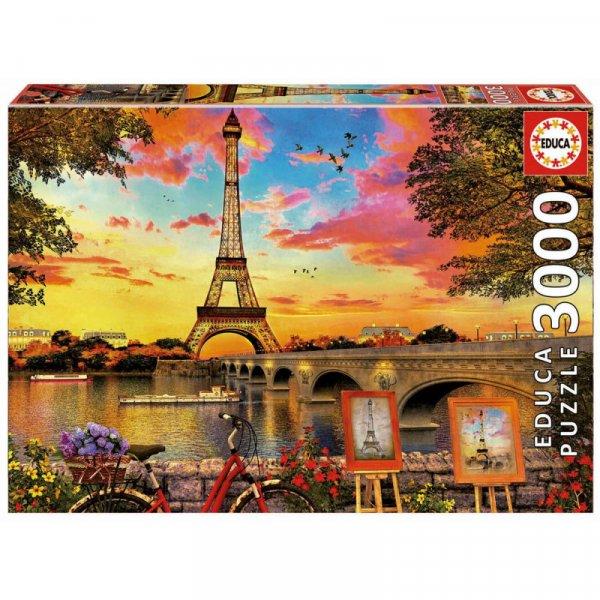 Παζλ Sunset in Paris Educa 17675